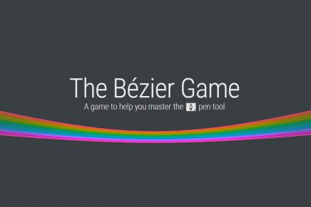 The Bézier Game, el juego para mejorar tu dominio de Photoshop
