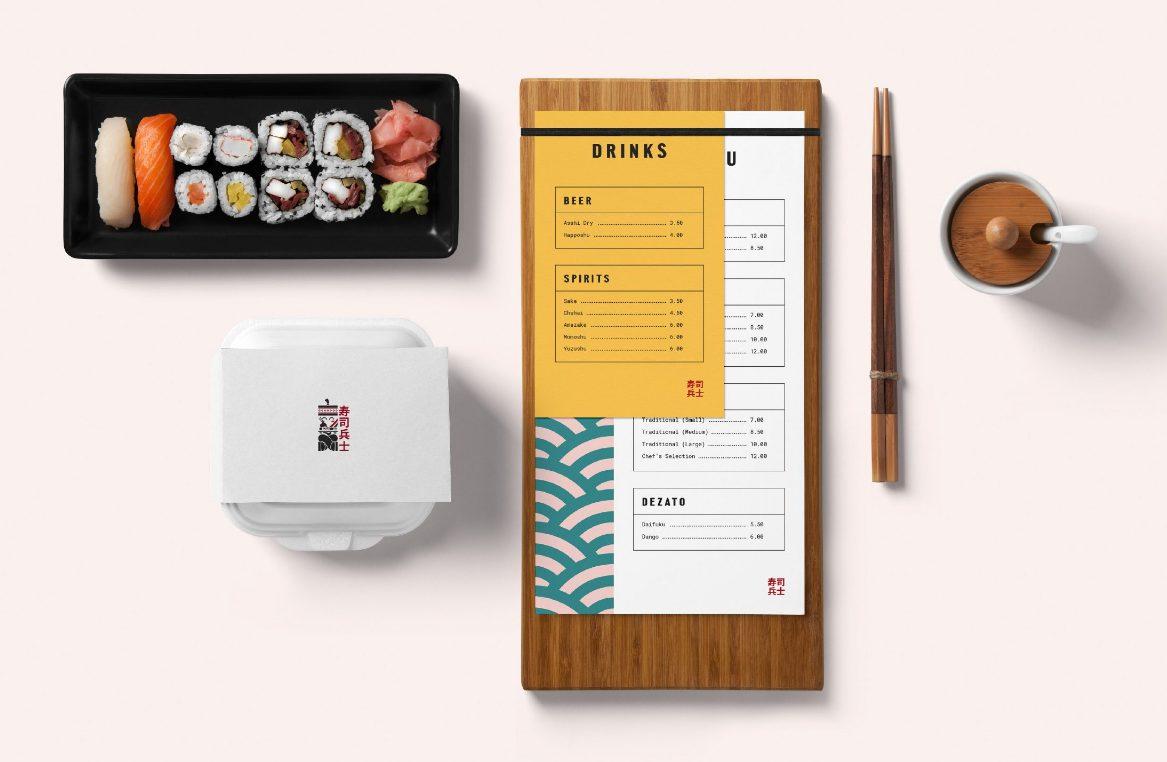 diseños de packaging para restaurantes