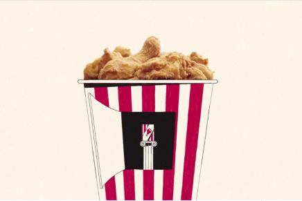 KFC apuesta por un original anuncio diseñado por Linn Fritz