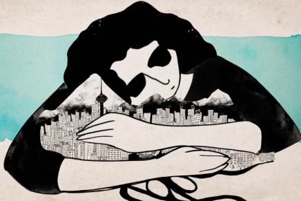 Naghmeh Farzaneh da vida a la emociones que siente un inmigrante