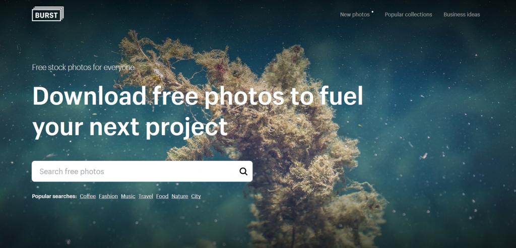 Burst, el banco de imágenes gratis creado por Shopify