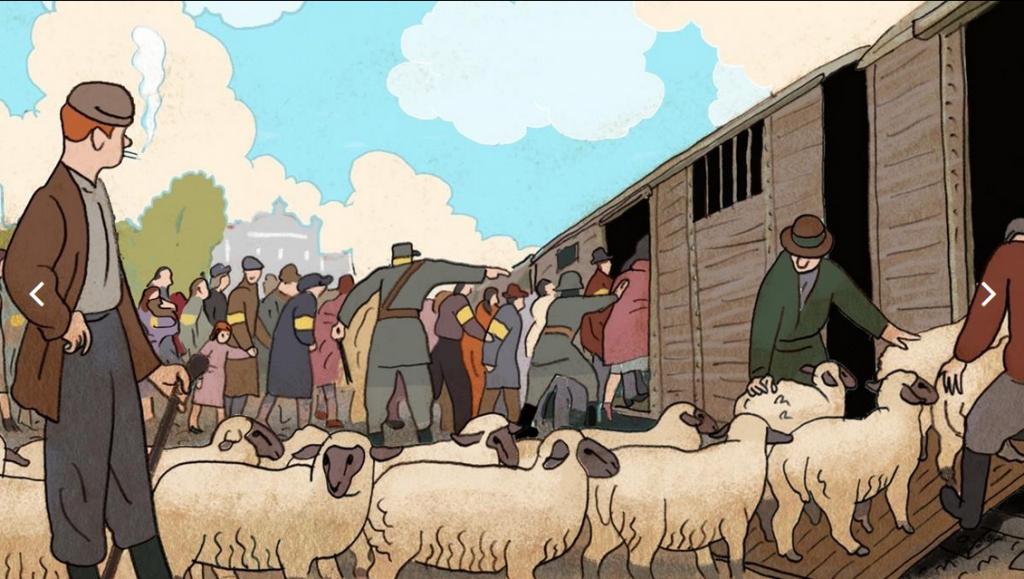 'El Diario de Ana Frank' en cómic
