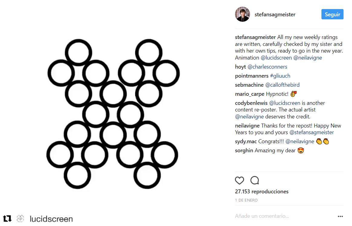 ¿Quieres que Stefan Sagmeister opine