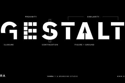 La teoría Gestalt aplicada al mundo del diseño