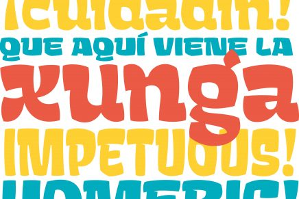 Xunga y la ruptura canónica del diseño del cómic español