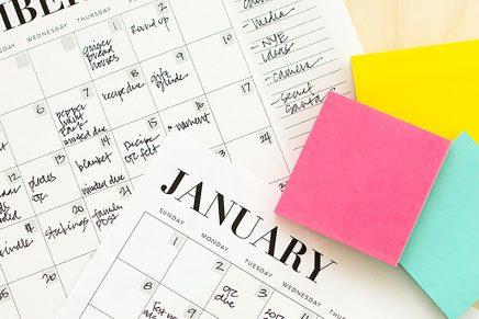 5 calendarios gratuitos que te harán más productivo durante este curso