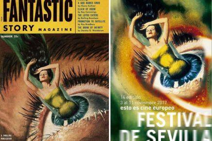 Plagio evidente en el cartel del festival de cine de Sevilla