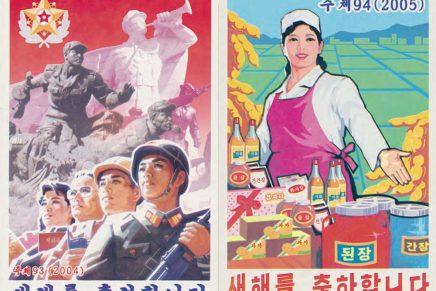 Si desconoces cómo es el diseño gráfico norcoreano, Nicholas Bonner te lo muestra en su último libro