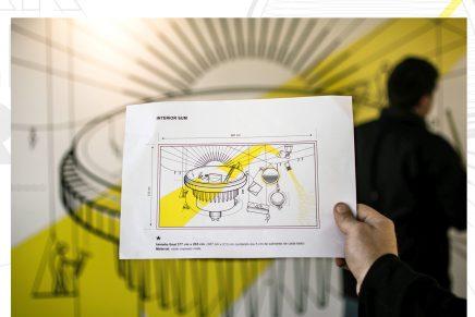 La gráfica de espacios que muestra su respeto al medioambiente, creada por InPlace Design