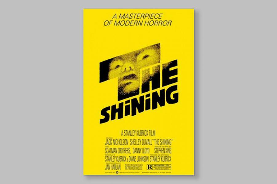 La historia detrás del cartel de Saul Bass para el 'El resplandor'