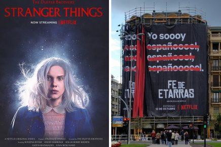 Estética ochentera y polémica envuelven las nuevas campañas de Netflix