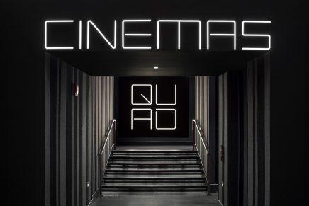 ¿Cómo diseñarías la imagen corporativa de un cine? Esta es la propuesta de Pentagram