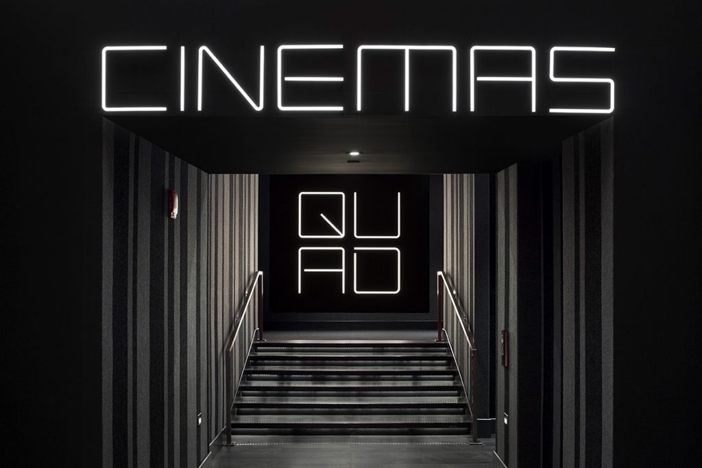 diseño de imagen de un cine