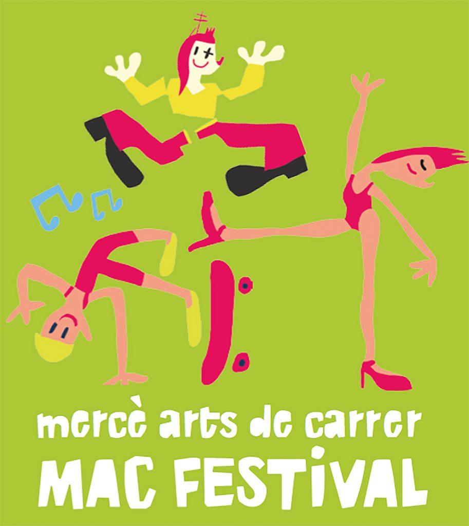 Ilustración y tipografías del programa de fiestas de la Mercè 2017 - 10