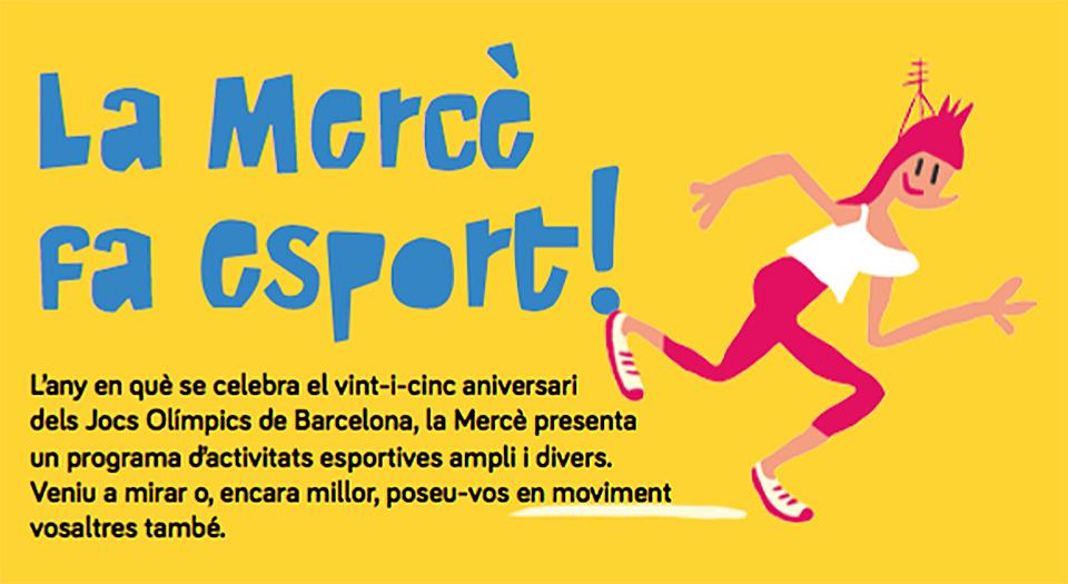Ilustración y tipografías del programa de fiestas de la Mercè 2017 - 3