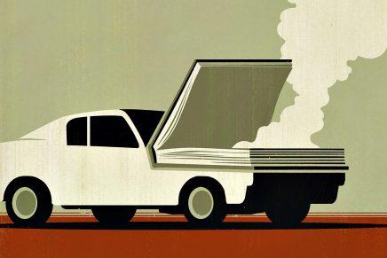 'Being a Writer', el día a día de un escritor a través de las ilustraciones de Guidone