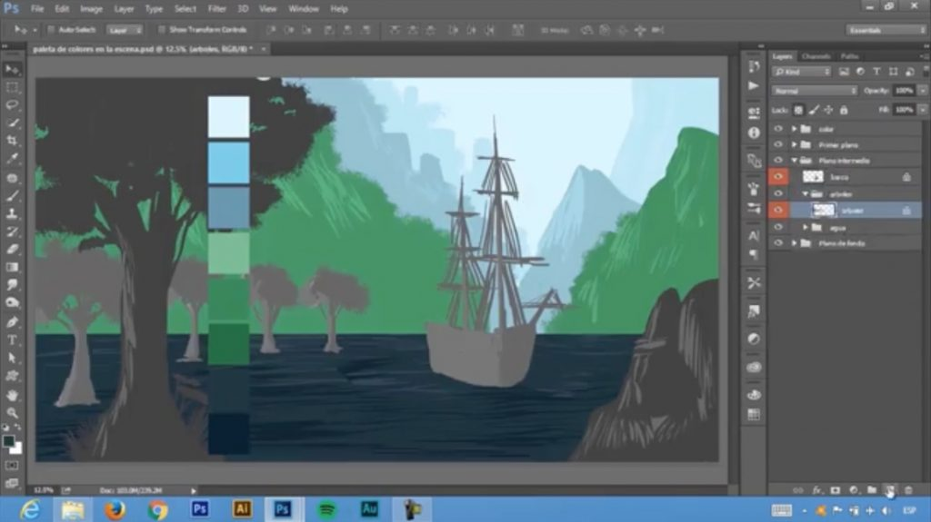 Cómo crear un Matte Painting profesional con Photoshop y Lightroom
