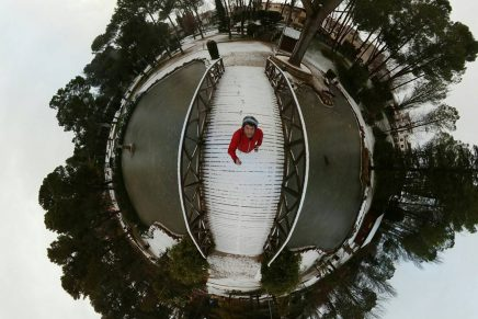 El efecto Tiny Planet o fotografía esférica con Photoshop