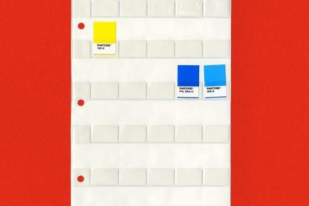 Pantone presenta un clasificador de etiquetas en base a una idea de un diseñador