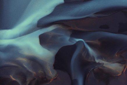 La fotografía abstracta de Tommy Clarke desde un helicóptero
