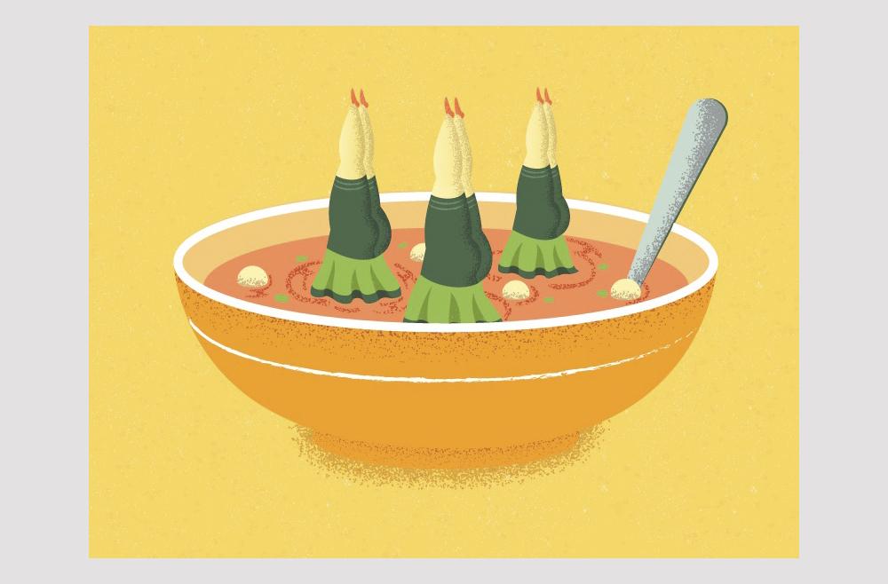 Soup Ladies, de Lina Leusenko