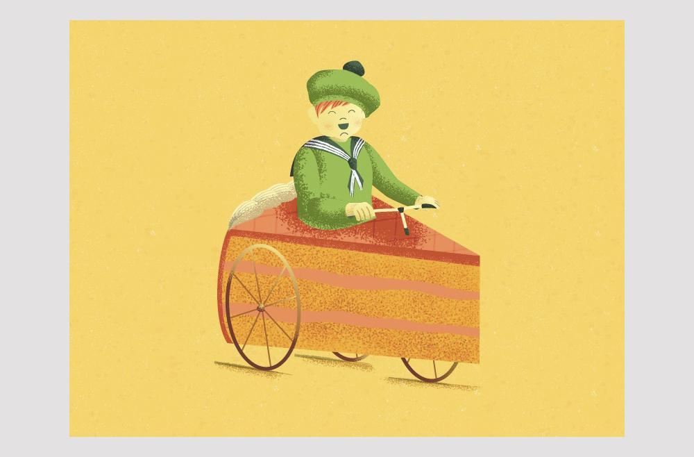 Dessert Kid, de Lina Leusenko