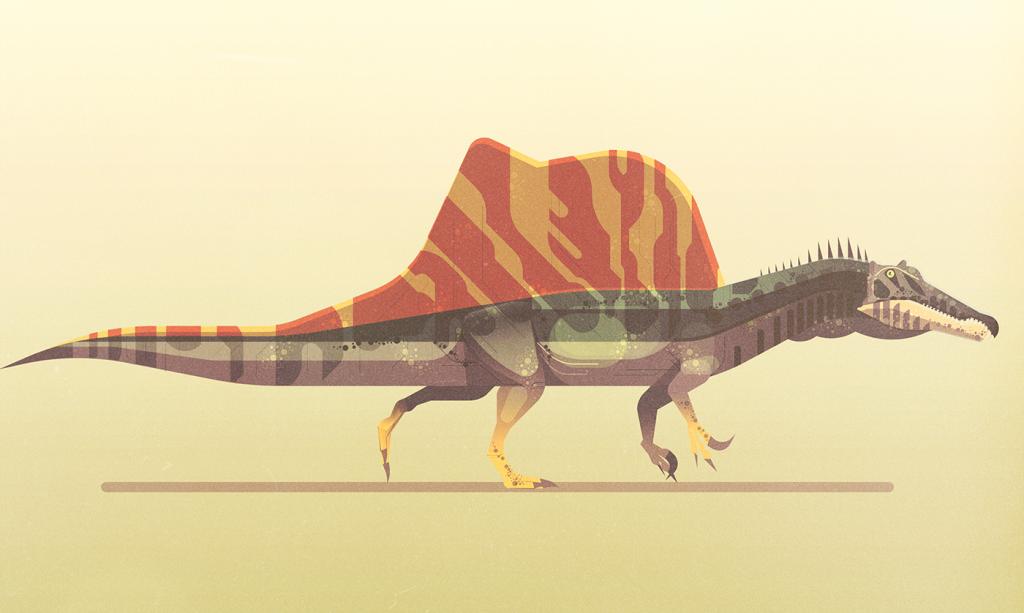 Dinosaurios de James Gilleard