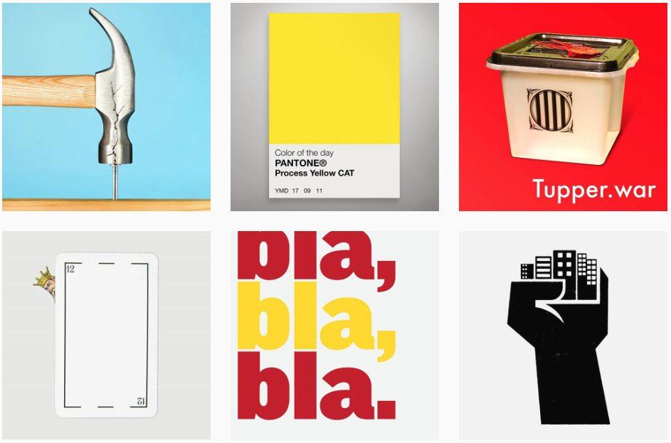 Denuncias visuales que piden libertad de expresión y democracia