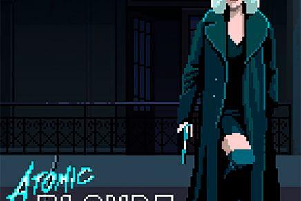 Un videojuego en pixel art para promocionar la película Atomic Blonde
