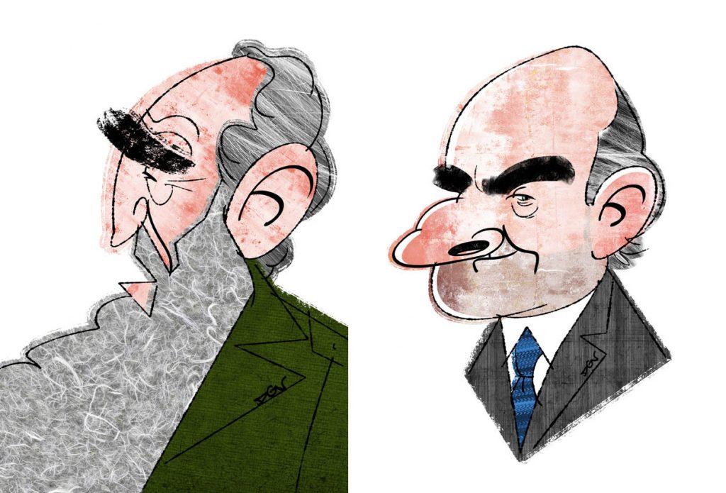 Caricaturas politicas de DGV