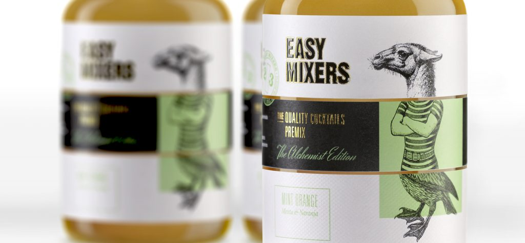 packaging de Easy-Mixers
