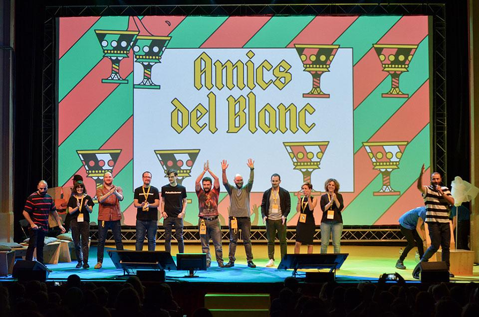 Blanc Festival 2017 Amics del Blanc cartel