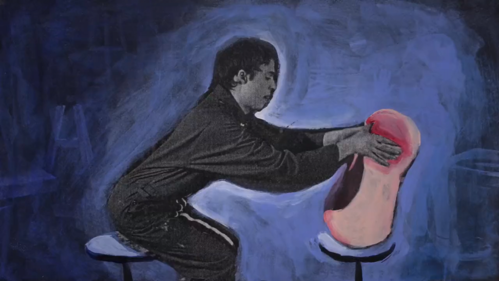 Escena del film 'Engloutis' de Léna Martinez
