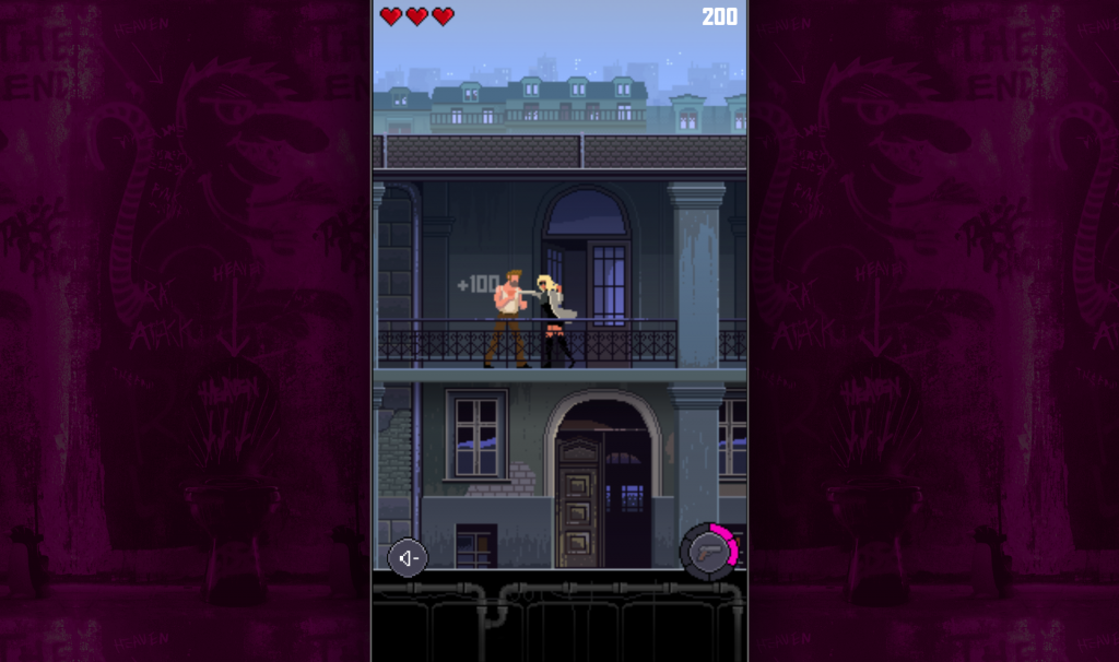 El videojuego en pixel art de Atomic Blonde