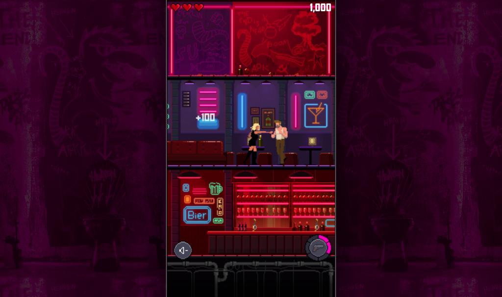 Escena del videojuego de Atomic Blonde