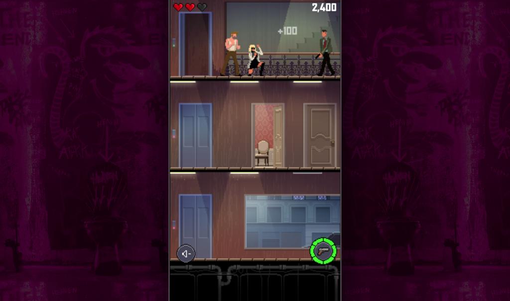 Captura del videojuego de la película Atomic Blonde