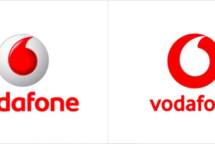 Vodafone se suma a la apuesta por un rebranding minimalista sin texturas
