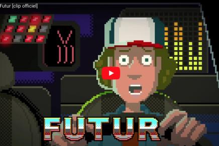 El pixel art es el protagonista del videclip 'Futur' de la banda francesa Sept