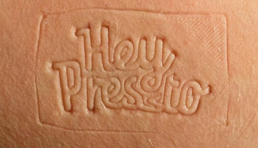 Parte de la animacion en stop motion 'Hey Pressto'