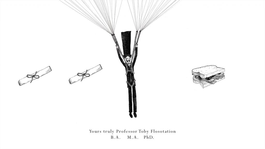 Una de las ilustraciones de Temujin Doran