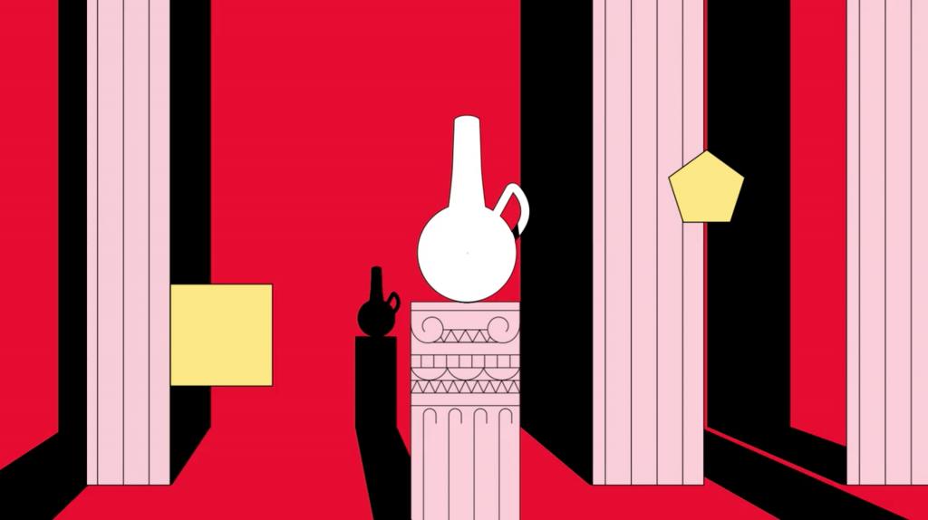 Escena de la animacion The Canadian Experiment de Polyester Studio