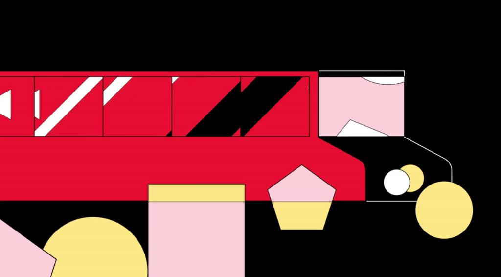 Ilustracion de la animacion de Polyester Studio y el Toronto International Film Festival