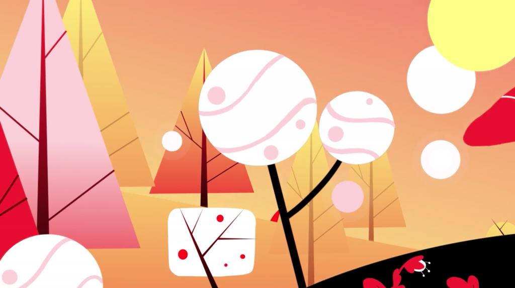 Una imagen de Polyester Studio en su animacion sobre que es ser canadiense