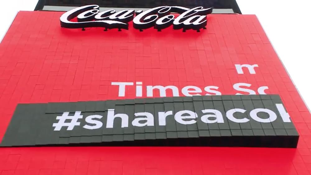 Coca-Cola instaura una pantalla 3D en Times Square