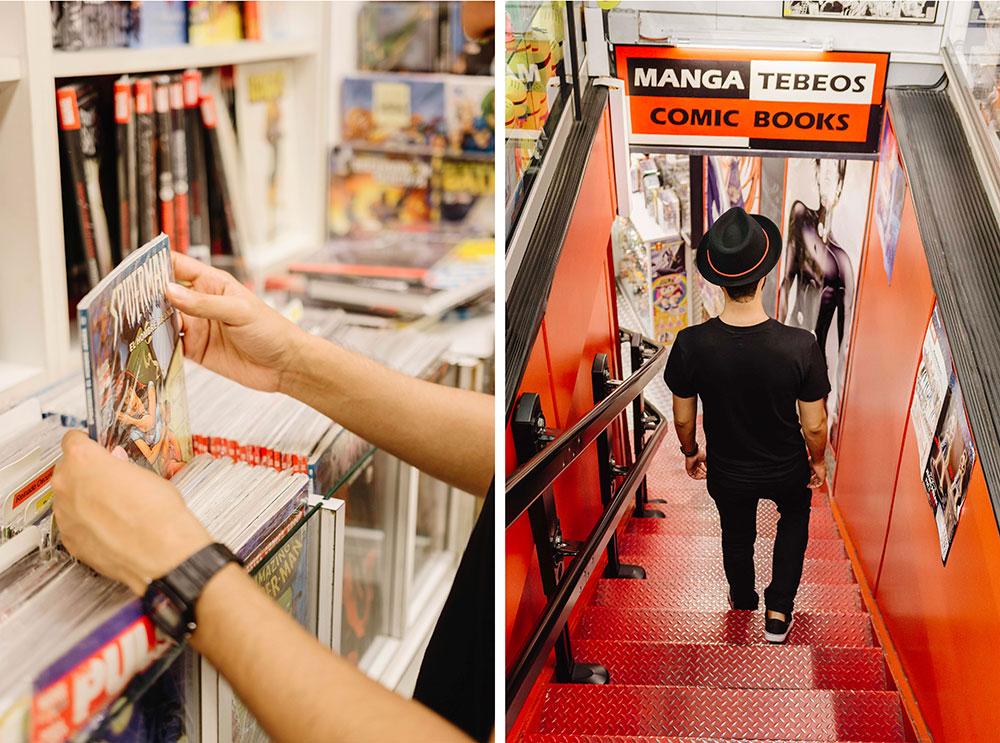 espacios creativos Barcelona Continuara Comics escaleras