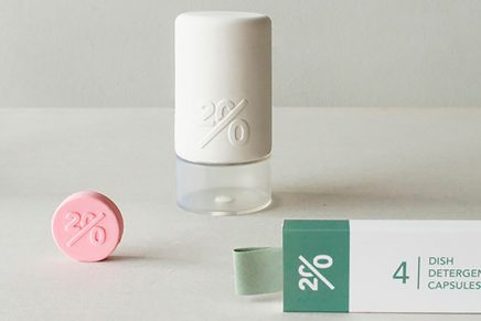 Twenty, la apuesta ecológica de packaging de una estudiante de diseño holandesa