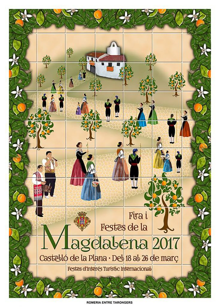 cartel de La Magdalena 2017