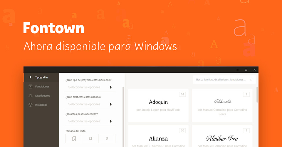 Fontown nueva version Windows Img Win nueva