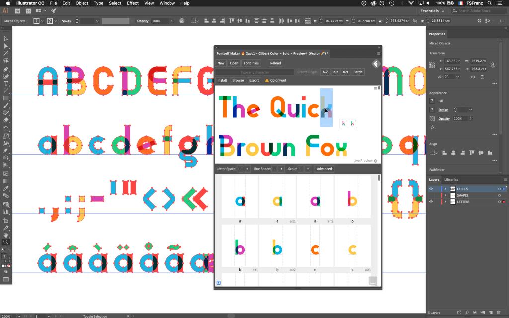 Fontself presenta la creación de fuentes de color y 5 tipografías ...