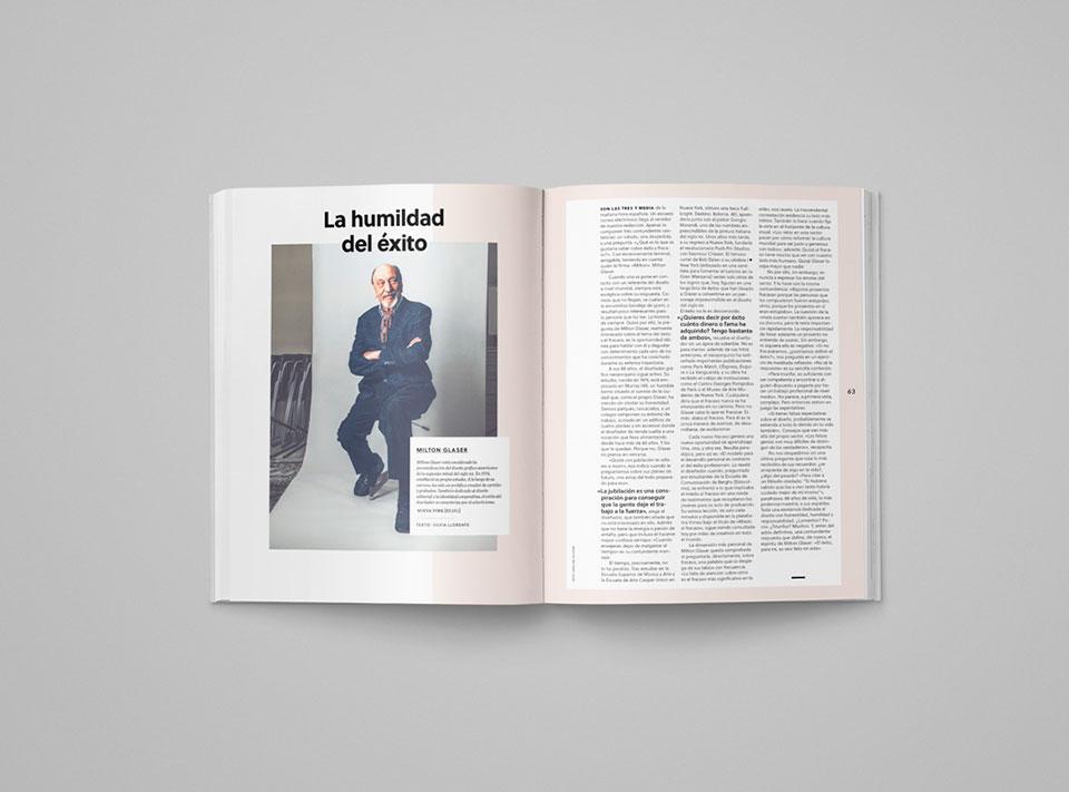 Graffica 7 Milton Glaser reportaje